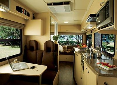 Campervan Rental New Zealand 6 Berth Motorhome