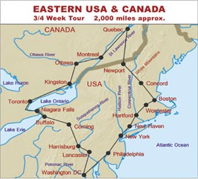 RV Hire Tour of Eastern USA and Canada