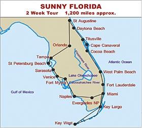 RV Hire Tour of Sunny Florida
