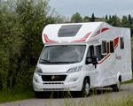 One-way trip motorhome campervan Europe